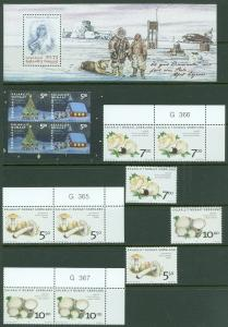 EDW1949SELL : GREENLAND Nice grouping of various Issues Complete VF MNH Cat $35