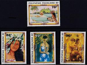 French Polynesia 695-698 MNH (1996)