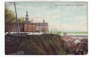Z619 old canada quebec king stamped view postcard mailed to new bedford mass