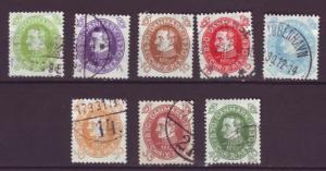 J843 stamps jls 1930 denmark Used various christian x