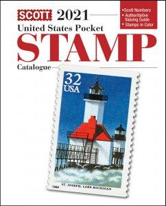 Scott 2021 United States Pocket Stamp Catalog / US Guide  Book