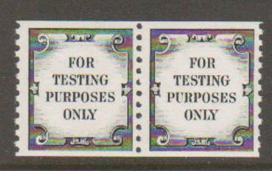 United States Testing Coil #41 Pair MNH