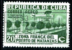 CUBA #C20, USED AIRMAIL - 1976 - CUBA338NS10