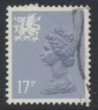 Great Britain Wales  SG W44ea SC# WMMH30a  Type II  Used  see details phospho...