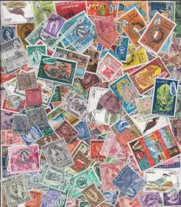 Bahrain Stamp Collection - 100 Different Stamps