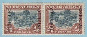 SOUTH AFRICA O50 OFFICIALS  MINT HINGED OG * NO FAULTS EXTRA FINE!