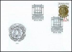 Slovakia 1994 FDC 42 75 Years of Comenius University