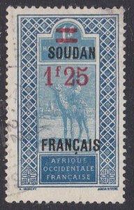 French Sudan Sc #56 Used