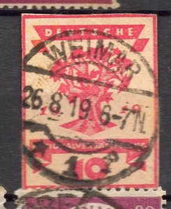 Germany 1919 Early Issue Fine Used 10pf. NW-95654