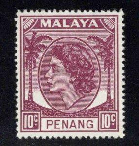 Malaya Malacca Scott 35 MH* stamps