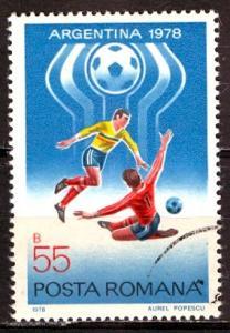 Romania; 1978: Sc. # 2761, O/Used CTO Single. Stamp