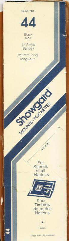 SHOWGARD BLACK MOUNTS 215/44 (15) RETAIL PRICE $9.75