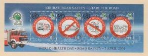 Kiribati Scott #842 Stamp - Mint NH Souvenir Sheet