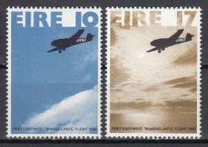 Ireland, Sc 426-427, MNH, 1978, Flight - Planes