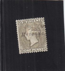St. Vincent Tax Stamp, 1p, Sc #9 (24898)