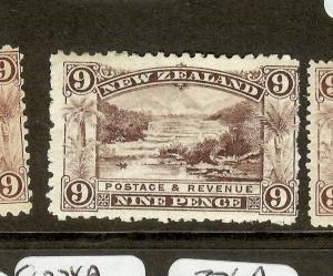 NEW ZEALAND (P2612B) 9D  SG314       MOG