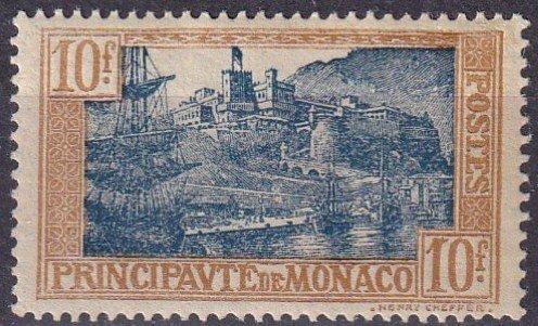 Monaco #92 F-VF Unused CV $25.00 (Z4331)
