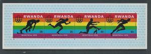 Rwanda #770 NH Olympic Games- Montreal Canada SS