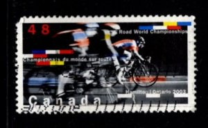 Canada - #1998 2003 Road Cycling Championships-  Used