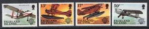 FALKLAND ISLANDS SCOTT 383-386