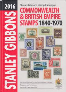 2016 Stanley Gibbons Commonwealth & British Empire stamps 1840-1970, used.