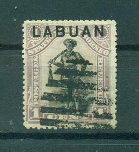 Labuan sc# 49 (2) used cat value $.70