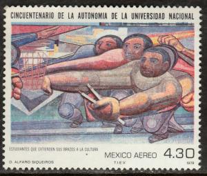 MEXICO C610, Autonomy of the National University. MINT, NH. F-VF.