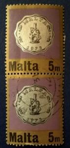 Malta # 441 Used