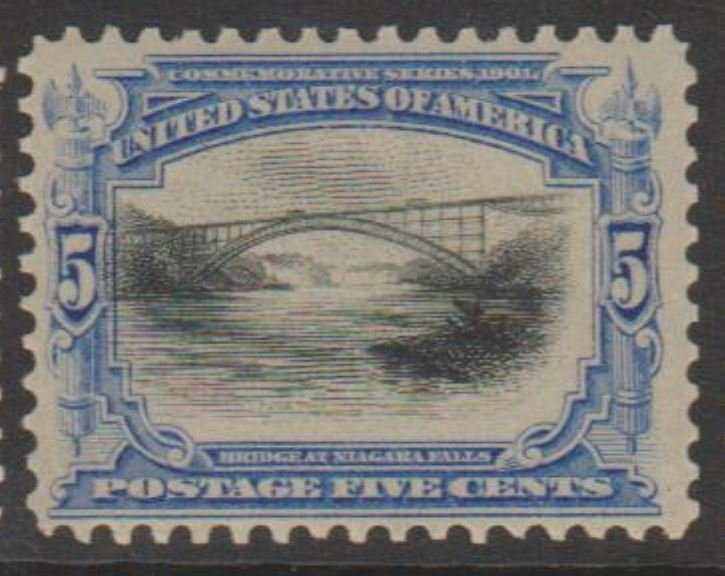U.S. Scott #297 Niagara Falls - Pan American Stamp - Mint Single - IND