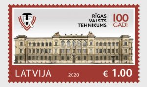 H01 Latvia 2020  Centenary of Riga State Technical School MNH ** Postfrisch