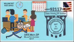 17-354, 2017, Date meets Zip, William Taft CA, Pictorial, Event Cover