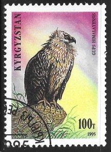 Kyrgyzstan #82 100t Birds - Gyps Himalayensis