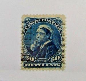 1893 Canada SC #47 VICTORIA used stamp F-VF
