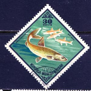Mongolia; 1975; Sc. # 860; O/Used Single Stamp