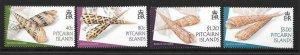 PITCAIRN ISLANDS SG660/3 2004 COWRIE SHELLS MNH