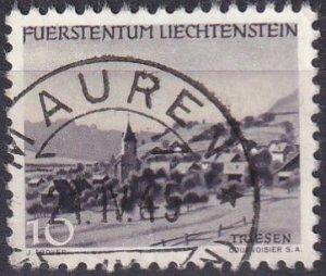 Liechtenstein #200 F-VF Used  (S10035)