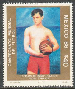 MEXICO 1440, World Soccer Championship. MINT, NH. F-VF.