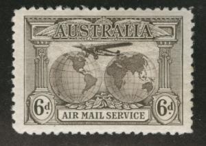 Australia Scott C3 MH* airmail 1931 Superb Centering CV$15