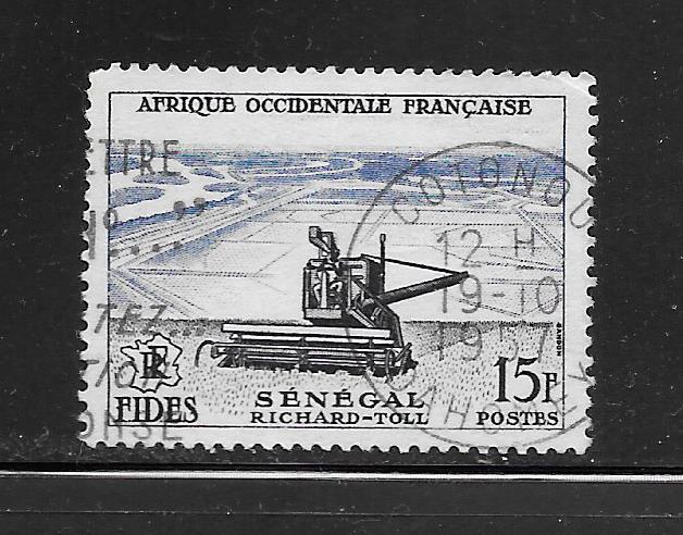 French West Africa #69 Used