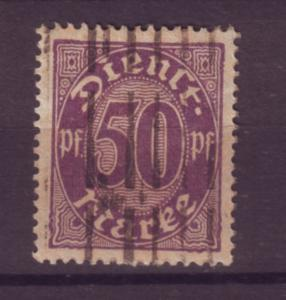 J20649 Jlstamps 1920-1 germany used #o8 numeral official