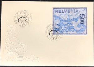 Switzerland #1075 FDC CV€16.00 21.6.2000 CDS St Gallen Embroidery [128811]