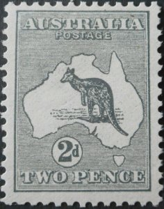 Australia 1913 Two Pence Kangaroo SG 3 u/mint