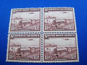 SOUTH WEST AFRICA - SCOTT #110   TRAINS    MNH/MLH