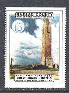 USA New York World's Fair 1939/40 Nassau County Long Island Tourism Jones Beah
