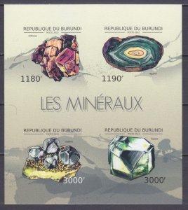 2012 Burundi 2733-2736KLb Minerals 15,00 €