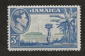 JAMAICA SC# 140  FVF/MNH