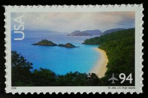 2008 94c Trunk Bay, St. John, Virgin Islands Scott C145 Mint F/VF NH