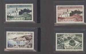 Tunisia C17-C20 Mint VF LH (C17 cr, C20 NH)