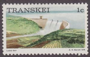 Transkei 5 Lubisi Dam 1976