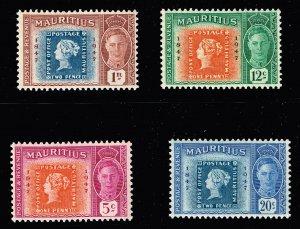 UK Mauritius Stamp 1947 MNH STAMPS LOT